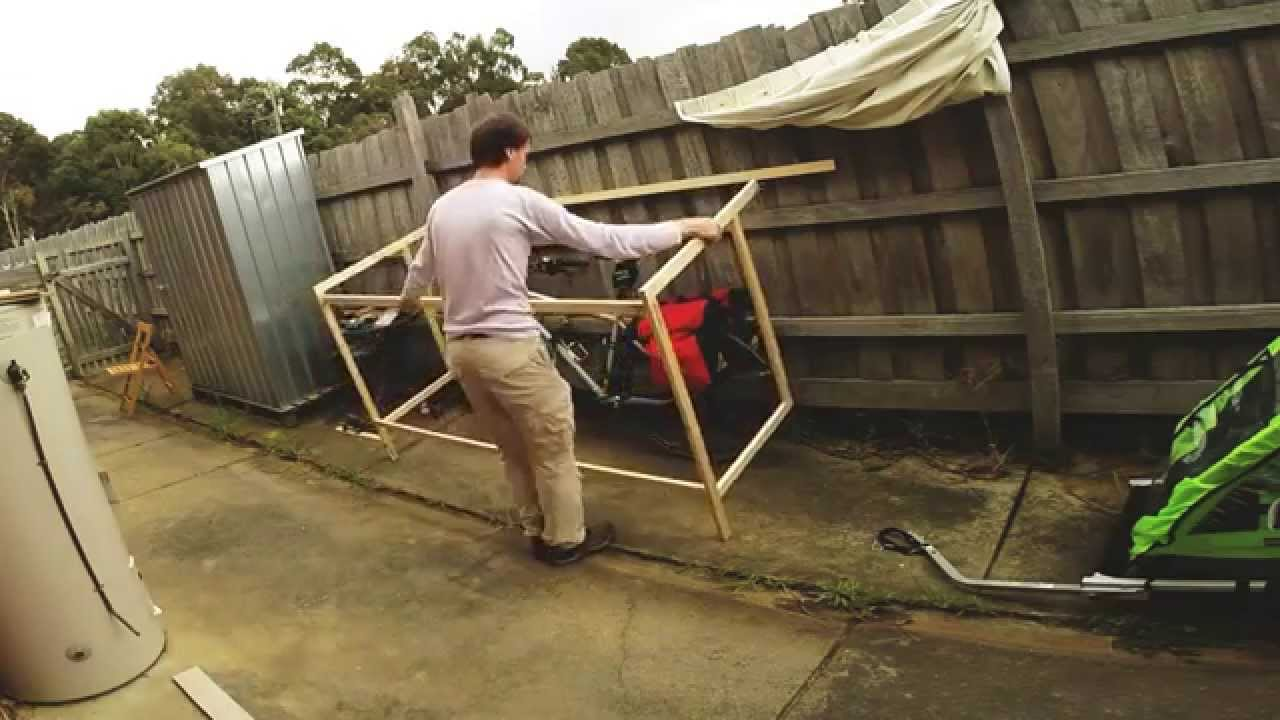 Building Lightweight Bike Shed Youtube