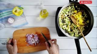MAKFA | Рецепты | Жареный рис с овощами и яйцом