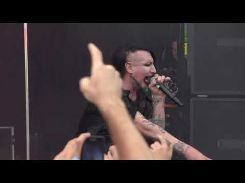Marilyn Manson - Full Live In Melbourne, Austrália, At Soundwave Festival 2012 (HD Version)