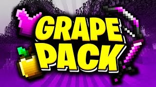 Grapeapplesauce OFFICIAL 2018 Minecraft PvP Texture Pack RELEASE!