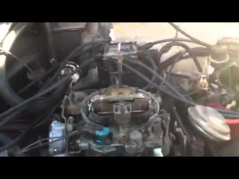 1983 cutlass carb problem youtube 1986 v6 engine diagram 2000 ford contour v6 engine diagram