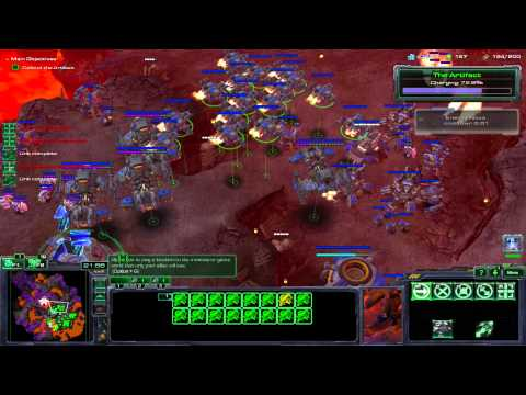 """Starcraft 2: Wings of Liberty - Mission 21 [All In] + Cinematic """"The Showdown"""""""