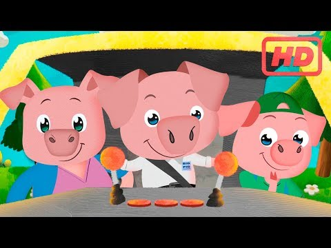 The three little Pigs | Short stories for children