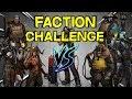 Faction Face Off Challenge -- Crossout