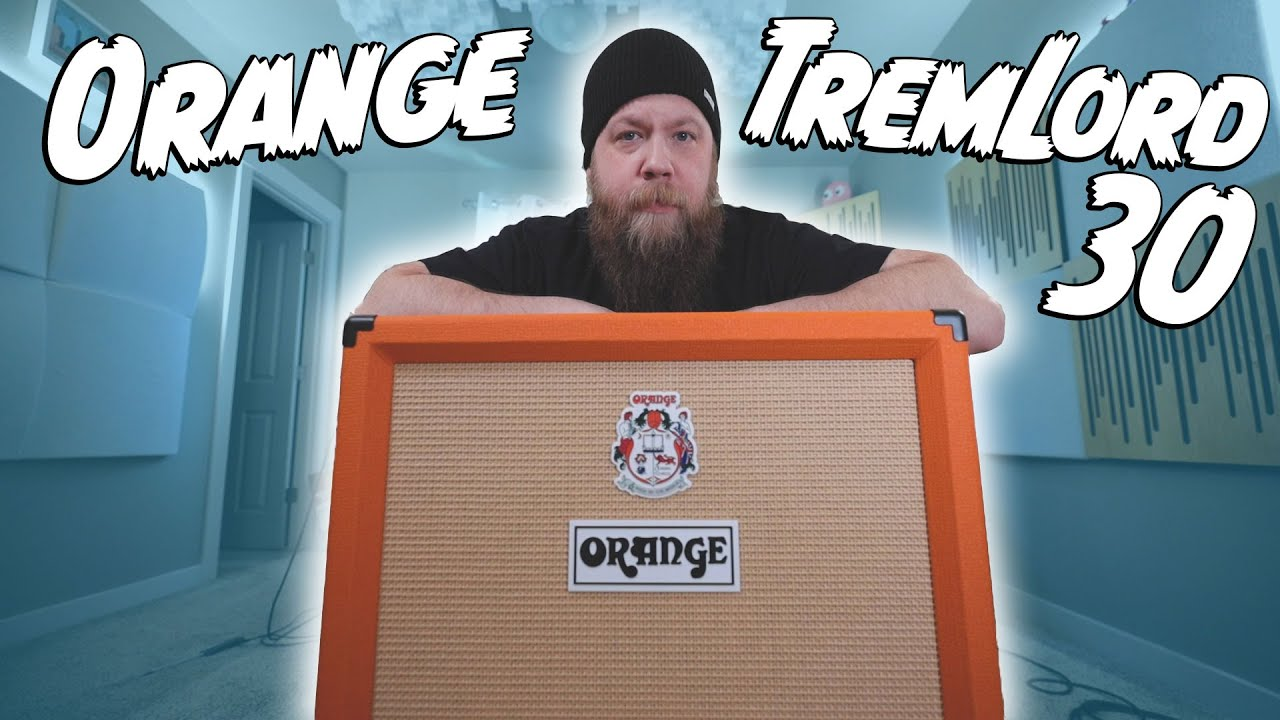 SO FRESH AND SO CLEAN! Orange TremLord 30!