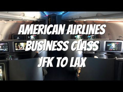 American Airlines Business Class JFK To LAX