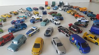 Driving toy Cars different Hot Wheels Cars Video for Kids
