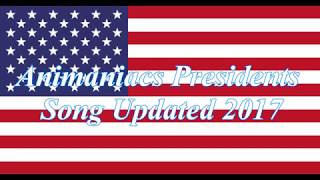 Animaniacs Presidents Song Updated 2017