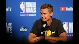 Steve Kerr Optimistic Despite Tough Loss - Full Press Conference   Game 3