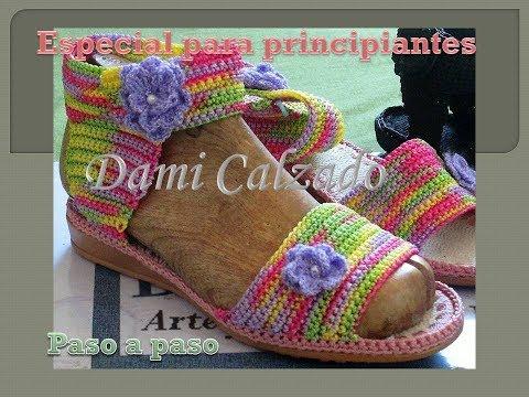 Sandalia PartePaso Tejida A Crochet2da Repeat PasoBien VSMpLUGqz