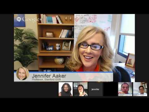 Virtual Roundtable: Jennifer Aaker, Marketing Professor, Stanford Graduate School of Business