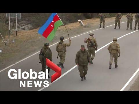 Nagorno-Karabakh conflict: Azeri army takes control over Kalbajar district