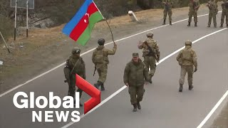 Nagorno-Karabakh conflict: Azeri army takes control over Kalbajar district