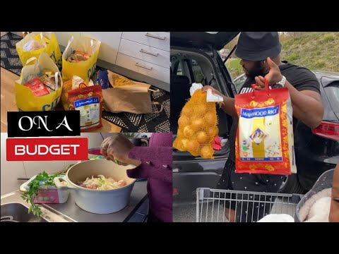 MONTHLY GROCERY HAUL