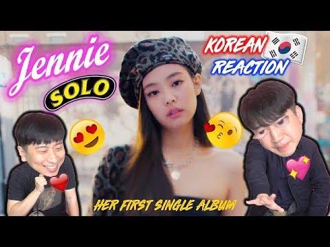 [ENG SUB]🔥🔥 KOREAN BOYS React To JENNIE of BLACKPINK - SOLO