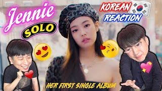 [ENG SUB]🔥🔥 KOREAN BOYS React To JENNIE of BLACKPINK - SOLO