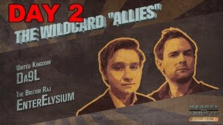 Hearts of Iron 4 - Waking the Tiger - Three Day War - Great Britain and the Wildcard Allies - Day 2