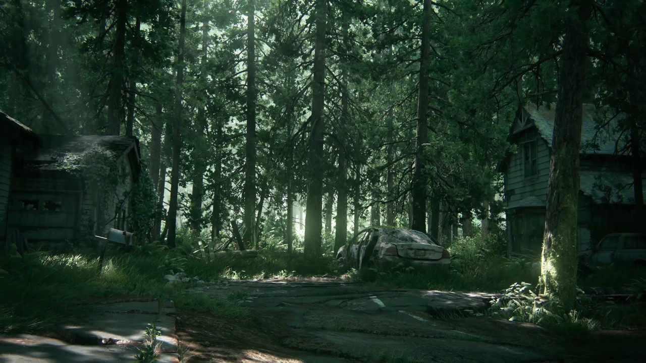 tlou2 ghost town hd wallpaper preview (wallpaper engine) - youtube