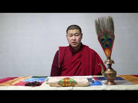 Учение Хамба Ламы Этигэлова от 13 декабря в 26 лунный день.