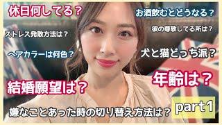 8万人記念🎉質問コーナー💗前半⚡️⚡️/Q&A Part1!!/yurika
