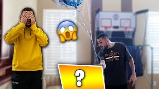 I SURPRISED BRAWADIS WITH AN EARLY CHRISTMAS GIFT! *CRAZY REACTION*