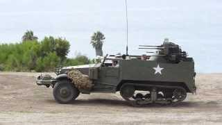 M3 Halftrack at Ft MacArthur, CA (M16A2 MGMC)