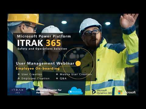 ITRAK User Management: Employee On-Boarding