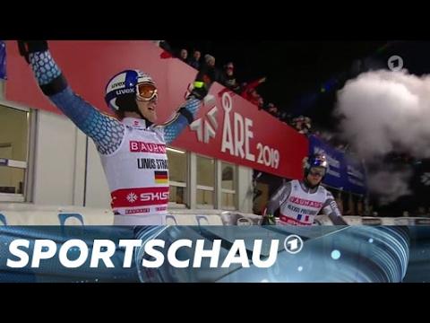 Straßers furioser Sieglauf in Stockholm | Sportschau