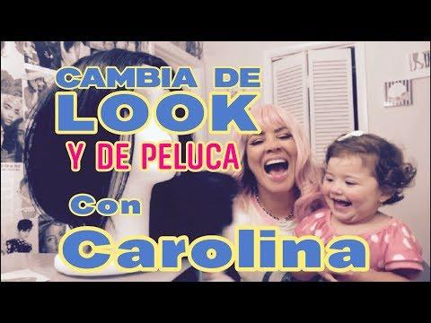 Tutorial  de Como Ponerse Una Peluca... Al Estilo Carolina Sandoval La Venenosa