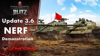 Update 3.6 Medium tanks nerfed || Demonstration