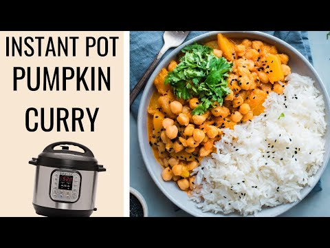 INSTANT POT PUMPKIN CURRY | vegan pumpkin curry