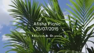 H&M LOVES MUSIC POP-UP STORE AT PICNIC AFISHA FESTIVAL IN RUSSIA 2015