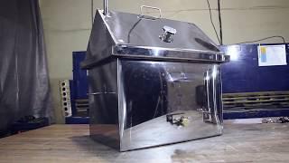 Обзор коптильни горячего и холодного копчения ROYAL SMOKING ELIT