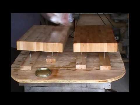 Making Cutting Boards / Butcher Blocks From Scrap Wood