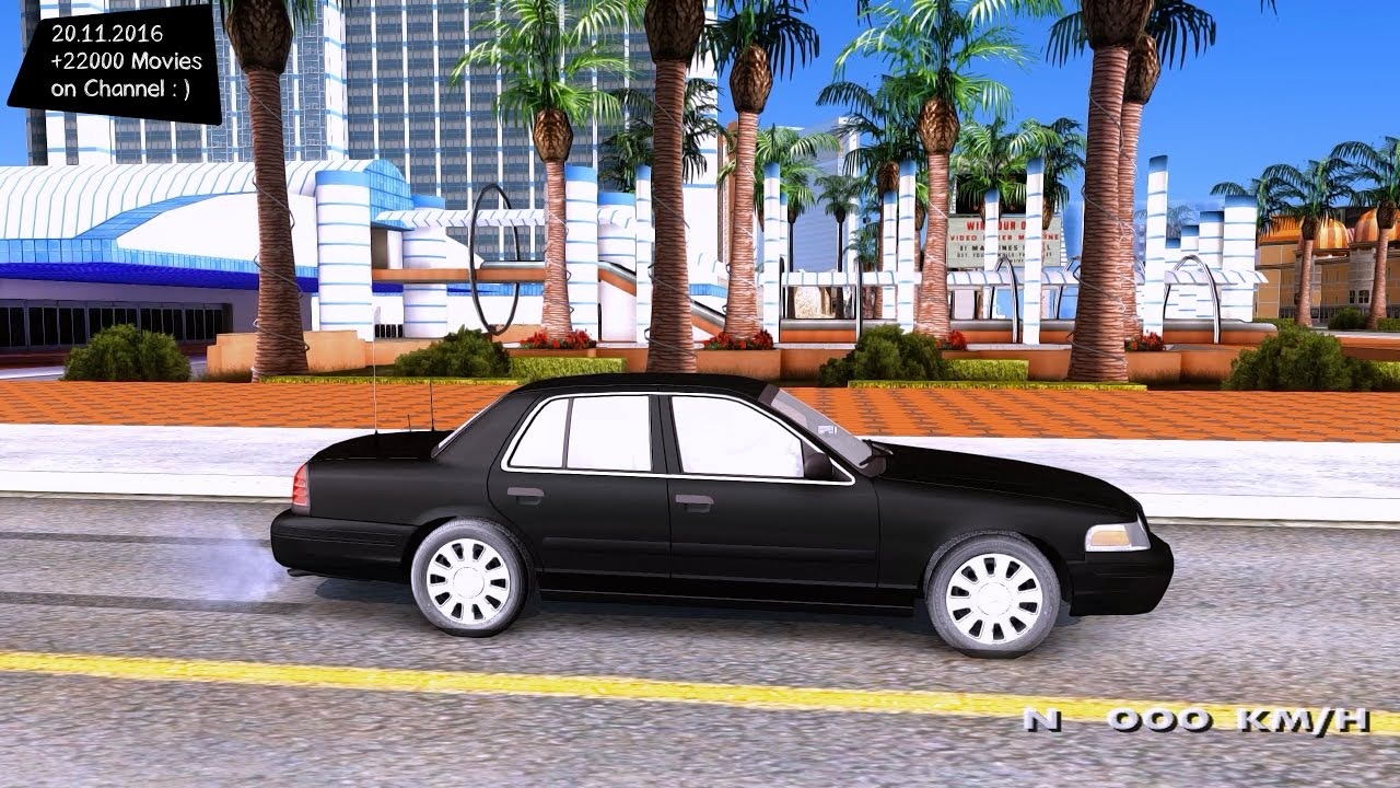 Ford Crown Victoria Unmarked Undercover Detective Gta San Andreas P K Fps
