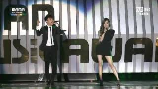 [2014 MAMA] TIFFANY.CHEN.JOHN LEGEND-Green Light