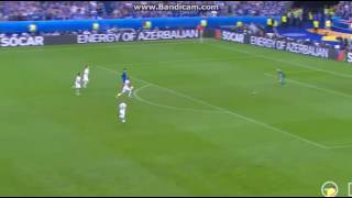 Antoine Griezmann goal vs Iceland