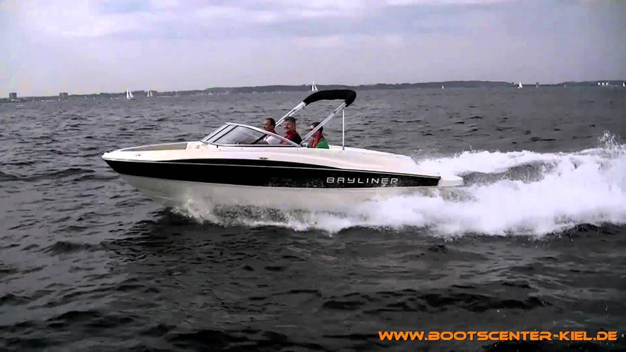 Bayliner 185 Bowrider Sport mit 135 PS MerCruiser 3 0 L TKS - Bootscenter  Kiel