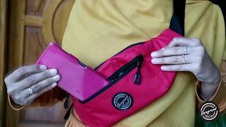 GMD Tas Selempang Pria Waist Bag Kualitas Distro Keren GMK01