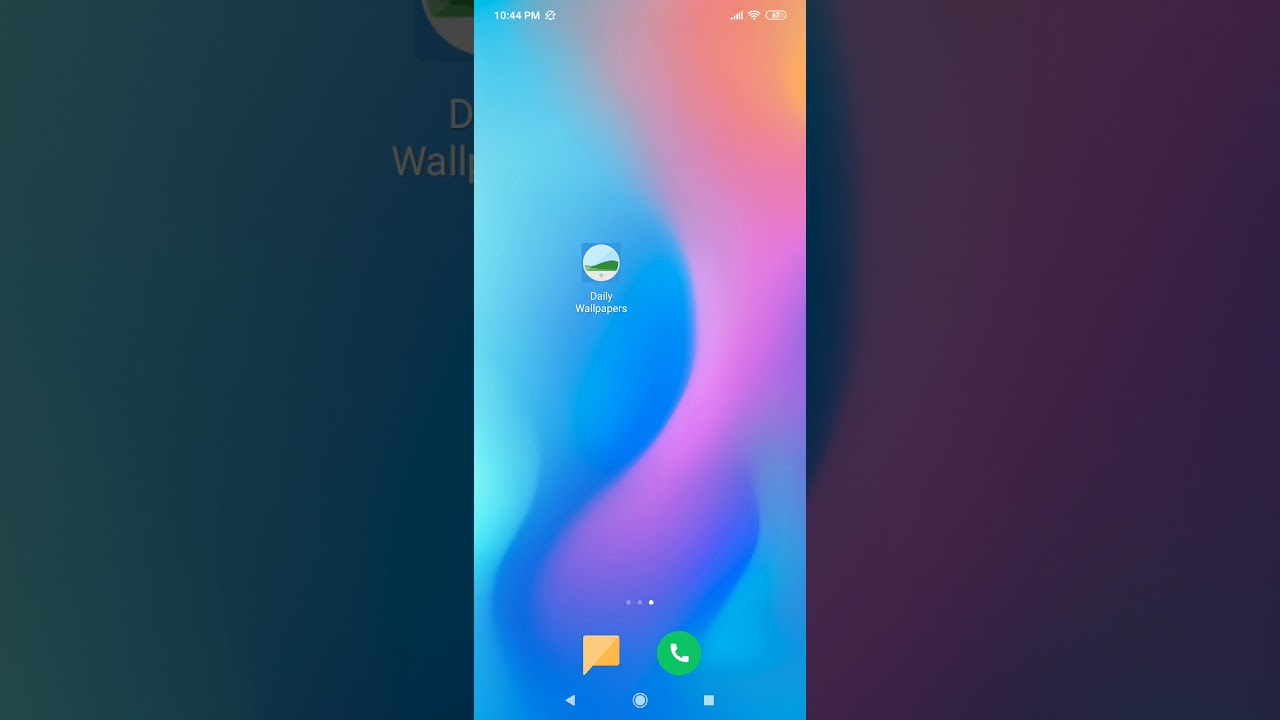 Change wallpaper of your Android home & lock screen ...