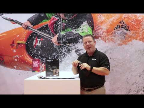 Bryon Robinson introduces YKK's AQUASEAL® zipper at IFAI Expo