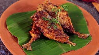 Goan Style Bangda Fish Fry - Rava Fish Fry Recipe - Mackerel Fish Fry by Shagun - Recheado Masala