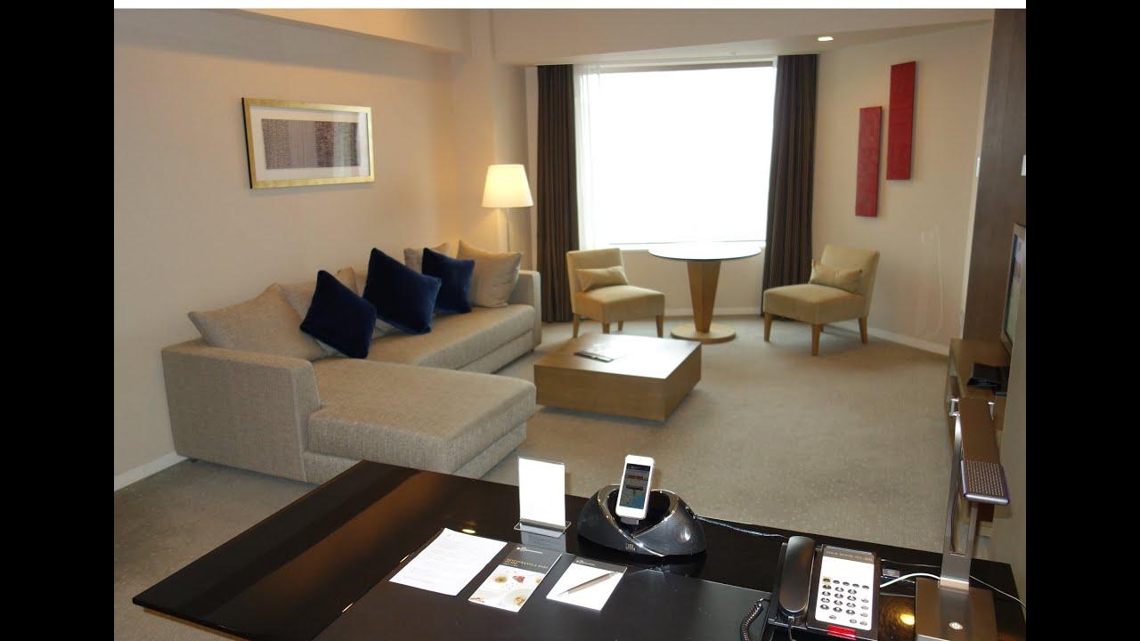 Rooms: ANA InterContinental Tokyo, King Corner Suite (Premier
