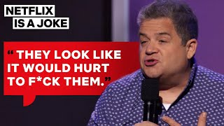 Patton Oswalt Can't Stand Extreme Hikers | Netflix Is A Joke