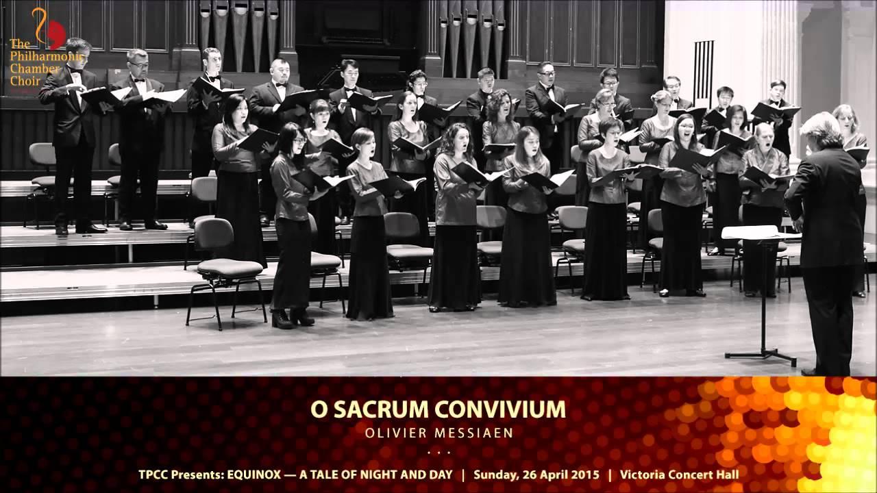 Download OLIVIER MESSIAEN . O Sacrum Convivium