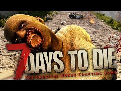 7 Days To Die - Alpha 15 - БРЕЙН И ЖЕНЯ ВЫЖИВАЮТ!