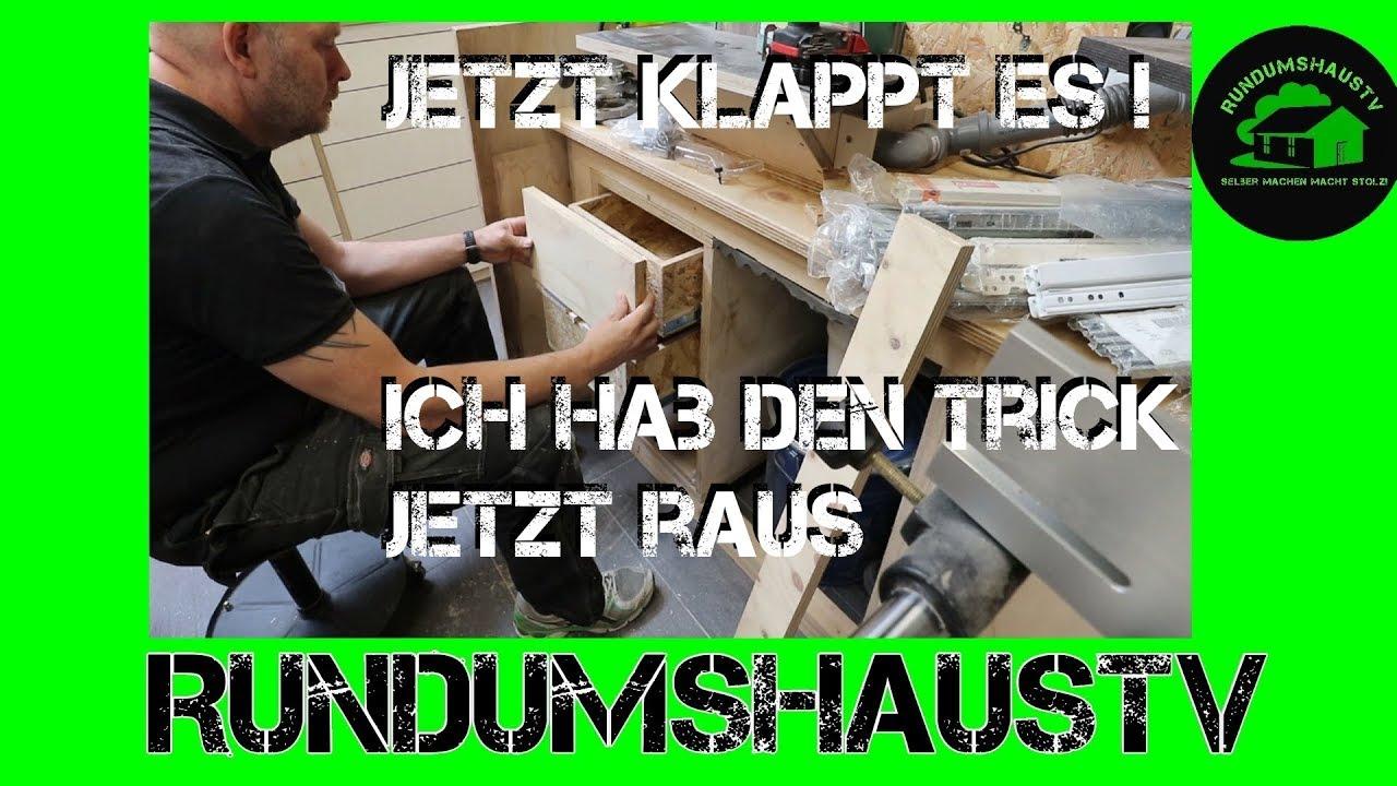 Schubladen Und Verblenden Der Werkbank Teil 3 3 Das Chaos Nimmt Seinen Lauf