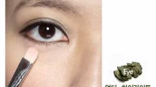 카키 스모키 메이크업_Khaki Smoky Makeup