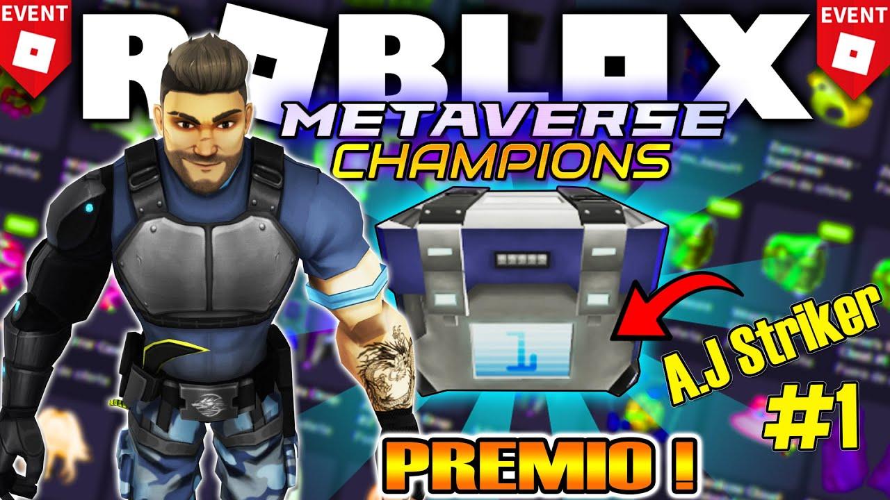 Download 🔥Como Conseguir PRIMER PREMIO! *Evento* ROBLOX METAVERSE CHAMPIONS!  Cajas (A.J Striker #1)