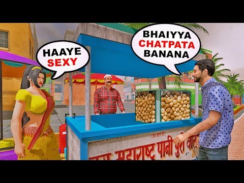 Desi GTA - Bhai The Gangster   Funny Android Game   Baklol Bunny